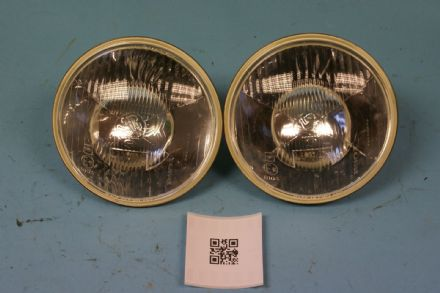 Corvette C1 C2 C3 UK Spec Wagner 8104 Dip Headlights Pair, Used Good